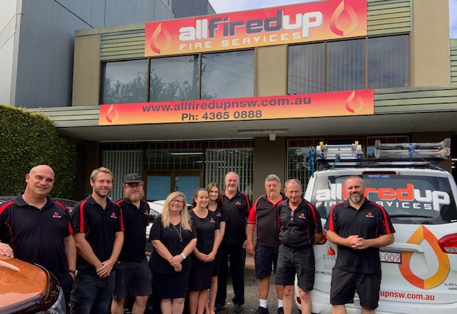 all fired up team